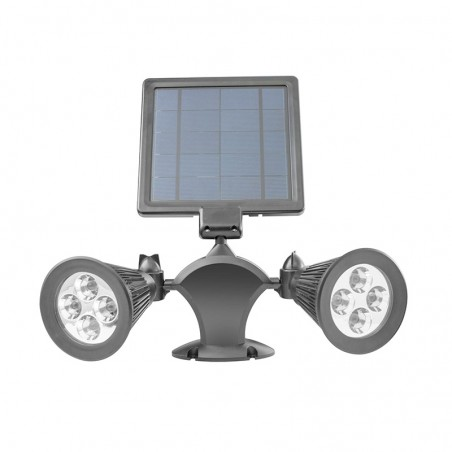 DOUBLE PROJECTEUR LED SOLAIRE MODÈLE L350 WI-LIGHT